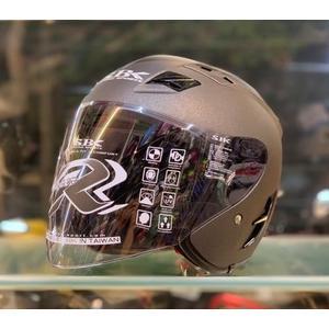 SBK安全帽,SUPER-RR,ABS版,素/消光鐵灰