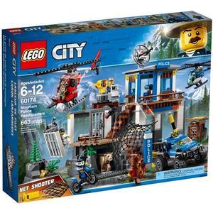 樂高LEGO CITY 山區警察總部 60174 TOYeGO 玩具e哥