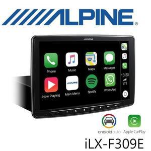 【愛車族】ALPINE iLX-F309E 9吋CarPlay觸控式藍芽多媒體導航主機(Apple USB.HDMI.支援倒車影像)