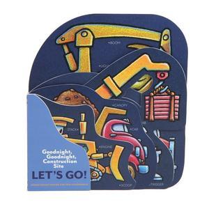 【工程車】GOODNIGHT GOODNIGHT CONSTRUCTION SITE LET'S GO! /硬頁書