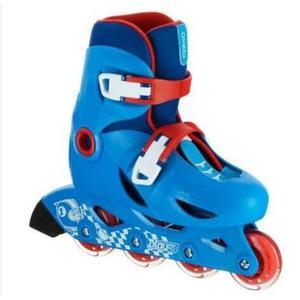 溜冰鞋迪卡儂兒童直排輪輪滑鞋小孩溜冰鞋旱冰鞋滑冰可調節