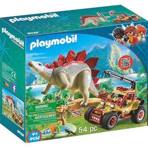 摩比積木 playmobil 劍龍與探險車