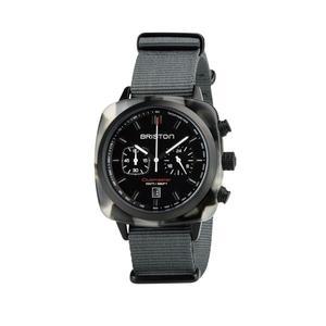 BRISTON 手錶 原廠總代理  18142-PBAM-GTS-3-NG  大理石灰 時尚帆布錶帶 男女 生日情人節禮物