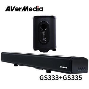 AVerMedia 圓剛 GS333+GS335 電競喇叭超值組