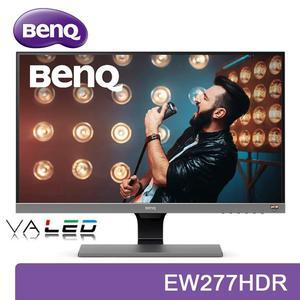 【免運費】BenQ 明基 EW277HDR 27型 VA HDR 螢幕 廣視角 內建喇叭 雙HDMI 低藍光 不閃屏 三年保固