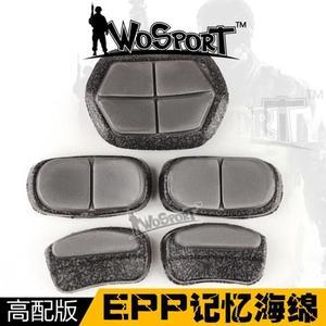 【狐狸跑跑】戶外CS野戰防護頭盔高配版配件內襯EPP記憶海綿墊