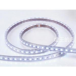 【燈王的店】220V 5050常壓彩色免驅動器LED軟條燈(彩色) (一捆20米) ☆ LED50HV/2-RGB
