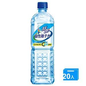 舒跑鹼性離子水850ml*20【愛買】
