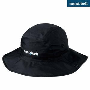 Mont-bell 日本品牌  GORE TEX  防水帽 / 遮陽帽/ 圓盤帽 (1128514 BK 黑色)