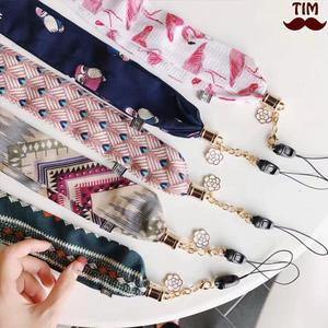 絲巾掛繩 布面 通用掛繩 絲巾 綢緞 掛脖繩 吊飾 可拆 特色掛繩