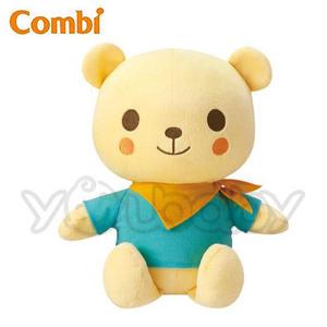 康貝 Combi Kuma Kun 小熊好朋友 音樂互動/聲控音樂安撫玩偶
