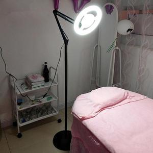 限定款立燈 護眼美容紋繡燈 LED美甲冷光半永久紋身折疊立式落地燈美膚補光燈jj
