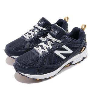 New Balance 越野慢跑鞋 NB 410 藍 白 輕量跑鞋 運動鞋 舒適大底 男鞋【PUMP306】 MT410MT52E