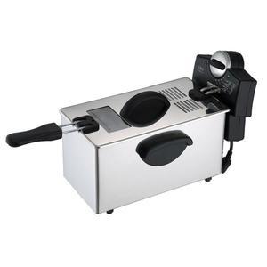 薯條機電炸鍋單缸商用家用小油炸鍋油炸機炸薯條機電炸爐全自動不銹鋼 小明同學 NMS