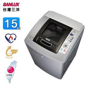 SANLUX台灣三洋15KG超音波單槽洗衣機 SW-15NS5~含拆箱定位