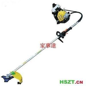 [ 家事達 ] HSZT 軟管二行程引擎割草機42.7CC - 超低價+ 割草盤 牛筋繩 刀片