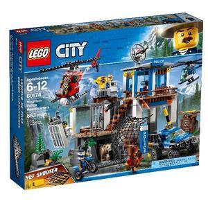 【LEGO 樂高積木】City 城市系列-山區警察總部 LT-60174