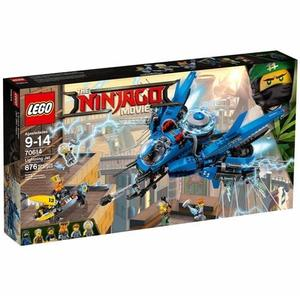 LEGO 樂高 Ninjago Movie Lightning Jet 70614 Building Kit (876 Piece)