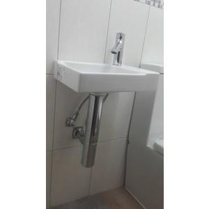 【麗室衛浴】瑞士 GEBERIT 151.025.21.1高級管型落水頭存水彎.防止臭氣上來.美觀.易清潔