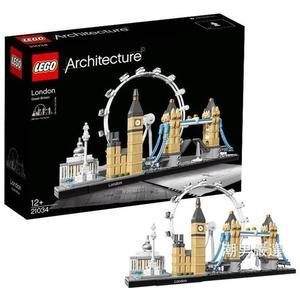 樂高積木樂高建筑系列21034倫敦LEGO積木玩具收藏xw