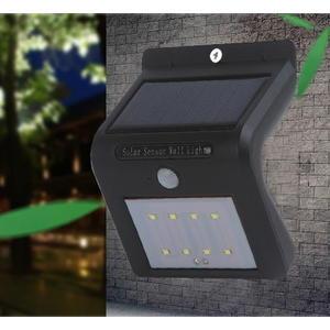 LED太陽能感應燈 內製電池 防水 太陽能20LED 感應壁燈 感應投光燈 LED感應燈 室外感應燈