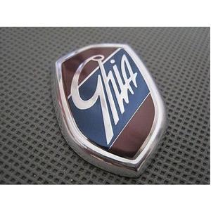 莫名其妙倉庫【2L025 Ghia 車標】福特 Ford Focus 盾牌 盾標 側徽標 側標 鎂鋁合金 Mondeo Fiesta 可參