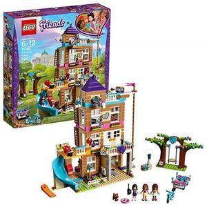 LEGO 樂高 Friends Friendship House 41340 Kids Building Set with Mini-Dolls (722 Piece)