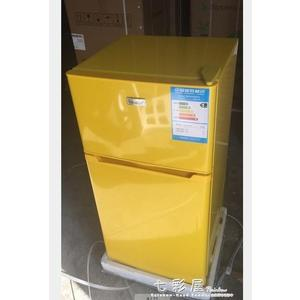 BC-118L迷你小冰箱小型電冰箱雙單門家用冷藏帶冷凍車載冰箱igo   檸檬衣舍