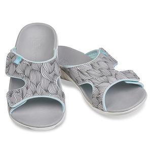 《Spenco》WAVE SLIDE 女 涼拖鞋 灰色 SF20-018