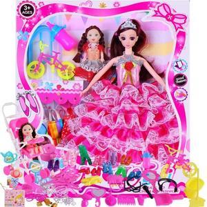 芭比娃娃套裝禮盒兒童玩具換裝洋娃娃【奇趣小屋】