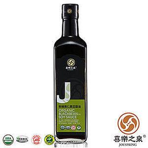 阿邦小舖 喜樂之泉 有機青仁黑豆醬油(500ml)===超促銷優惠中===