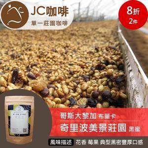 JC咖啡 半磅豆▶哥斯大黎加 布蘭卡 奇里波美景莊園 黑蜜 ★送-莊園濾掛1入
