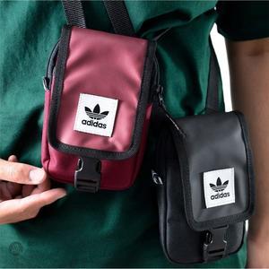 KUMO SHOES-現貨ADIDAS ORIGINALS MAP BAG 側背包 小包 腰包 輕便 黑 男女款 DU6795
