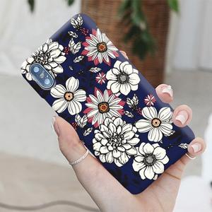 韓國 白色花朵 硬殼 手機殼│S8 S9 S10 S10E S20 Ultra Note8 Note9 Note10│z9045