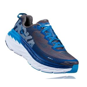 HOKA ONE ONE(男)BONDI 5 (藍/白) 超緩震跑鞋 慢跑鞋 HO1014757BTWH  【胖媛的店】