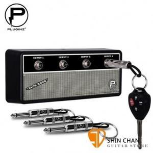 【吉他音箱造型鑰匙座】【Pluginz FENDER】【經典音箱風格/VINTAGE 】【4支鑰匙圈/1個鑰匙座】