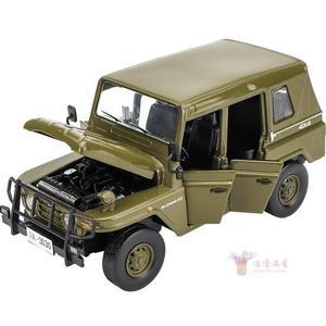 玩具車模型 軍事模型玩具軍事運輸車吉普車合金越野車仿真聲光回力兒童玩具車