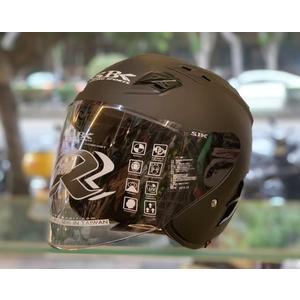 SBK安全帽,SUPER-RR,ABS版,素/消光黑
