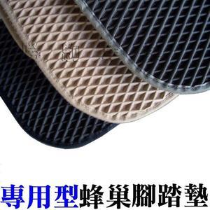 【TOYOTA】AGR專用型防水蜂巢式腳踏墊 / 專用三排 WISH SIENTA