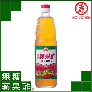 【工研酢】無糖蘋果酢(600ml‧果醋‧健康醋)