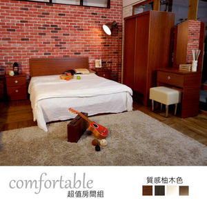 房間組【時尚屋】[WG5]露比床片型5件房間組-床片+掀床+床頭櫃+鏡台+衣櫃1WG5-38O+ZU5-7TCR