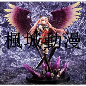 楓城動漫神擊的巴哈姆特暗黑天使奧利維亞暗天使紅色版手辦