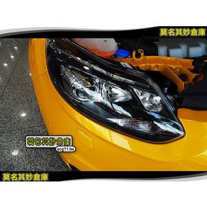 莫名其妙倉庫【FP026 ST燻黑魚眼轉向頭燈】原廠 歐洲件 含日行燈 高低 可調 自動 Focus MK3