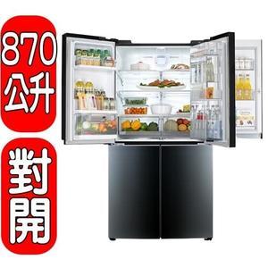 《結帳打85折》LG【GR-DBF80G】870公升門中門對開冰箱
