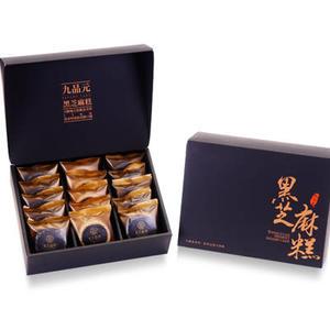 【九品元】頂級綜合芝麻糕(15入/盒)