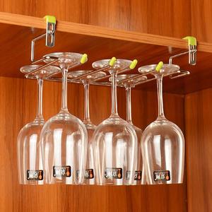 不鏽鋼紅酒杯架葡萄酒杯倒掛架