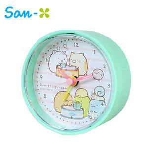 【日本正版】角落生物 圓形鬧鐘 造型鐘 指針時鐘 角落小夥伴 San-X 881854
