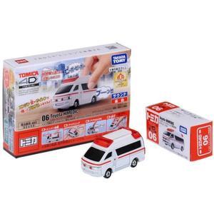 TOMICA 多美 4D 小汽車 06 Toyota 救護車