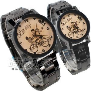 KEVIN 情人對錶 戀上有你的日子 學院風 立體多角切割鏡面 情侶對錶 IP黑 KV2068卡白大+KV2068卡白小