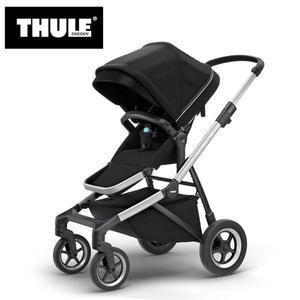【愛吾兒】瑞典 THULE Thule Sleek推車 尊爵黑